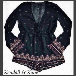 Kendall & Kylie Long Sleeves Romper